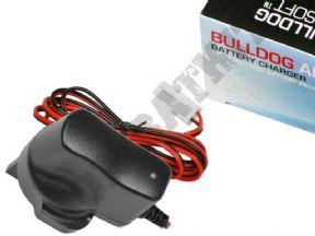 Bulldog Airsoft Battery Charger Universal Smart Auto 6-12v Ni-MH NiCD | KOMBATKIT
